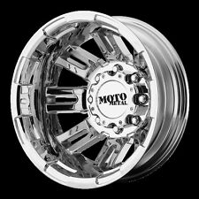 17 Inch PVD Wheels Rims Dodge RAM 3500 Chevy Silverado Ford F350 Dually 8x6.5