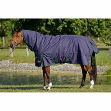SHIRES Brand BRIDLEWAY WHISTLER COMBO TURN-OUT HORSE BLANKET SIZE 87""