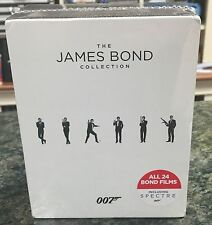 BRAND NEW The James Bond Collection (Blu-Ray, 2016 24-Disc Set) BRAND NEW SEALED