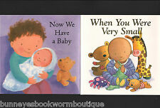 Lot 2 NEW BABY Growing Up PICTURE Story BOOKS New TODDLERS Preschool FAMILY