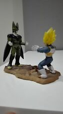DRAGON BALL Z MEGAHOUSE 3 VEGETA SS vs CELL CAPSULE FREEZER