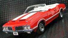 442 Oldsmobile 1970s OLDS Muscle Car Vintage Classic 1 24 Carousel Red Model 18