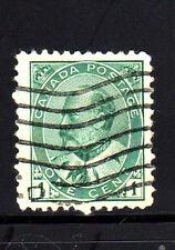 CANADA #89  1 CENT KING EDWARD V11    USED   b