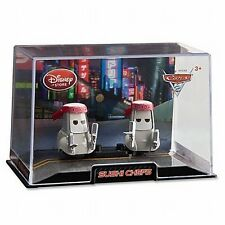 Disney Store Cars 2 Die Cast Collector Case Sushi Chefs 1:43 Scale NEW