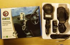 Universal Handsfree Car Kit & Cradle Fits Any Phone