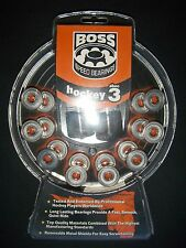 NEW * BOSS ABEC 3 Rated SPEED BEARINGS for Inline & Roller Skates * NEW