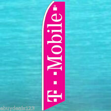 T MOBILE FEATHER FLUTTER FLAG Tmobile Cell Phone Advertising Sign Swooper Banner