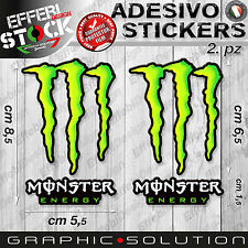 Adesivo Sticker 2.PZ MONSTER GRAFFIO DUCATI DRINK HONDA KTM RACING YAMAHA SUZUKI