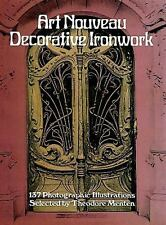 Dover Jewelry and Metalwork: Art Nouveau Decorative Ironwork (1981, Paperback)