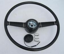 1940 Ford Deluxe 15'' Steering Wheel w/ V8 Horn Button for GM Steering Column