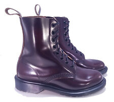 Dr. Martens Doc England MIE Merlot Boanil Brush Pascal Boots UK 3 US 4