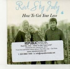 (DJ311) Red Sky July, How to Get Your Love - 2011 DJ CD