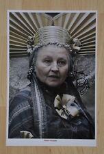 ORIGINAL Autogramm von Hanna Schygulla. pers. gesammelt. 100% Echt. 20x30 Foto