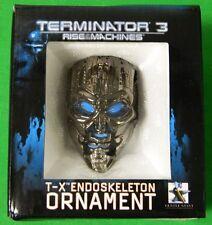 Terminator 3  T-X Ornament Endo Skeleton Rise of the Machines Endoskeleton New