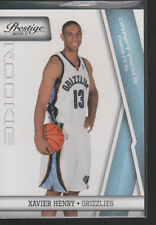 XAVIER HENRY 2010 -11 PANINI PRESTIGE LIGHT BLUE DRAFT PICKS ROOKIE #222/999