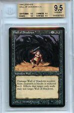 MTG Legends Wall of Shadows BGS 9.5 Gem Mint Magic the Gathering WOTC card Quad