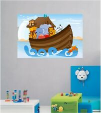 24x36 Noahs Ark Repositionable Color Wall Sticker Wall Mural Kids room Mural