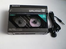 Vintage Sony WM-W800 Walkman double cassette player!  WM-10 times 2!