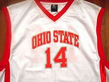 Vintage Ohio State Buckeyes #14 Basketball Jersey by Starter, Adult XL, NICE!!!