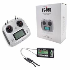 FLY SKY FS-I6S 10ch 2.4G 2A RC Transmitter Control with FS-iA6B Receiver Fo J7O7