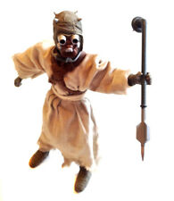 "STAR WARS 12"" TUSKEN RAIDER SANDPEOPLE  figure & Weapon NICE, RARE"