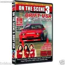 On the Scene 3: Drift USA DVD Vegas Parties Street Racing Exclusive Rally BMW