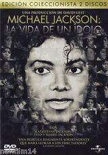 MICHAEL JACKSON LA VIDA DE UN IDOLO DVD EDICION COLECCIONISTA ( SIN ABRIR ) 2