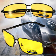 Yellow Lens Polarized Sunglasses Night Vision Driving Eyewear Glasses UV 400