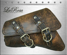 2004 & UP LaRosa Rustic Brown Leather Left HD Sportster Nightster 883 Saddle Bag