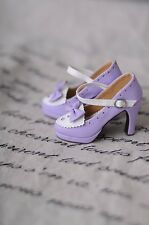 [Cat's Gift] Victorian style shoes for bjd SD 1/3 SD16 DD girl doll use purple