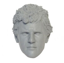 1/6 Custom Resin Hot Mel Gibson Mad Max Unpainted Head Sculpt Toys
