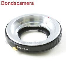 AF Confirm Voigtlander Retina DKL Lens to Nikon F Mount Adapter D750 D7000 D5200