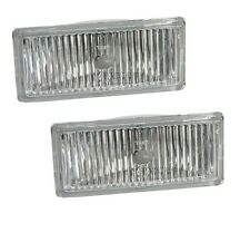 BMW E30 M3 Set of 2 Left and Right Fog Light Lens OEM Hella