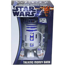 Official Star Wars R2-D2 Talking Money Bank Box - Collectable Boxed Droid Gift