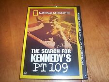 THE SEARCH FOR KENNEDY'S PT 109 US Navy WWII Sinking National Geographic DVD NEW