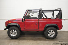Land Rover: Defender Convertible