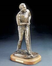 "Arnold Palmer 18"" x 8"" Arnold Palmer  Bronze Statue Sculpted By Bob Pack"