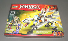 LEGO Set 70748 Ninjago Titanium Dragon w Zane, Clouse, Chop'rai NEW