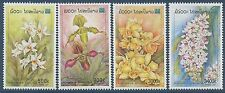 LAOS N°1371/1374** Fleurs, orchidées, 2000, Flowers, Orchids Set MNH