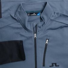 NEW AW15 J LINDEBERG GOLF MID JACKET TX THERMAL DK GREY SIZE: XL