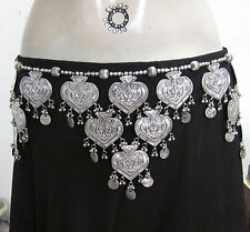 Tribal Fusion ats Coin Belt Boho Bellydance Festival Clothing Dress Fashion Belt