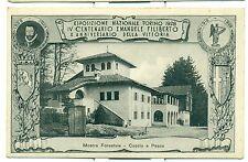 TORINO 1928 - ESPOSIZIONE NAZIONALE Mostra Forestale - Caccia e Pesca