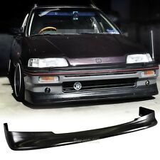 Fit For 88-89 Honda Civic 3Dr 88-91 Civic Wagon Front Bumper Lip Zenki Style PU