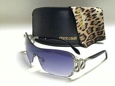 Authentic ROBERTO CAVALLI Nusakan RC926S-A 16B Shiny Palladium/Smoke Gradient