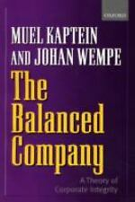 The Balanced Company: A Theory of Corporate Integrity-ExLibrary
