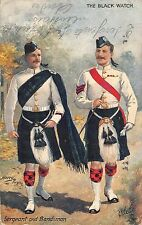 BR64678 the black watch sergent and bandstand   army military militaria england