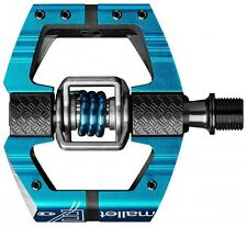 Crank Brothers Mallet E Pedals Blue MTB Mountain Bike Enduro Trail Clipless New