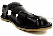 Cole Haan Mens Black Ginsberg Fisherman Sandal Size 10 M
