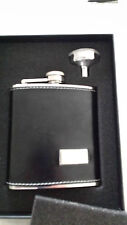 HARVEY MAKIN ~ HIP FLASK & FUNNEL ~ 19.99P NO RESERVE ~ UNWANTED