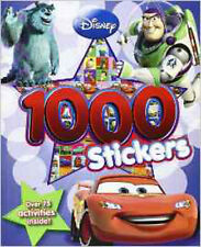 Disney Pixar 1000 Sticker Book, New,  Book